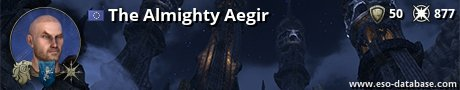 Signatur von The Almighty Aegir