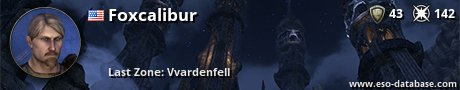 Signatur von Foxcalibur