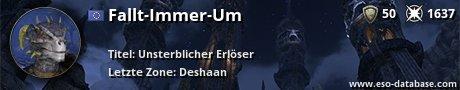 Signatur von Fallt-Immer-Um