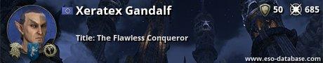 Signatur von Xeratex Gandalf