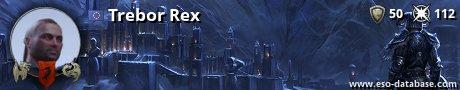 Signatur von Trebor Rex