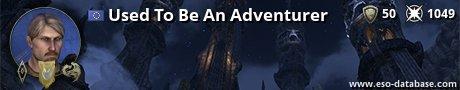 Signatur von Used To Be An Adventurer