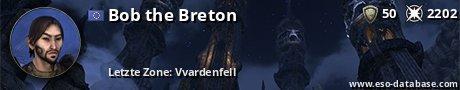 Signatur von Bob the Breton