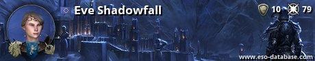 Signatur von Eve Shadowfall