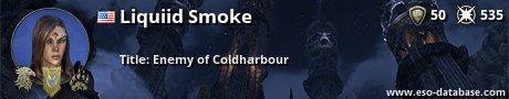 Signatur von Liquiid Smoke