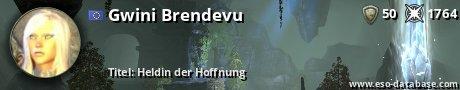 Signatur von Gwini Brendevu