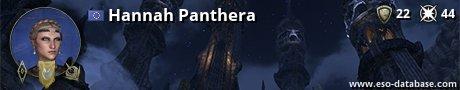 Signatur von Hannah Panthera