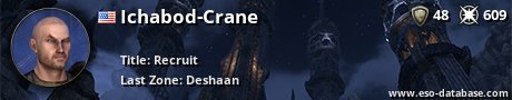 Signatur von Ichabod-Crane