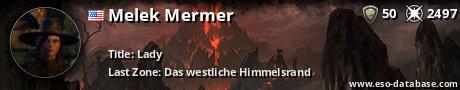 Signatur von Melek Mermer