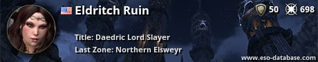 Signatur von Eldritch Ruin