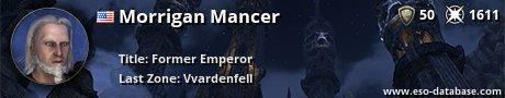 Signatur von Morrigan Mancer