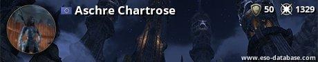 Signatur von Aschre Chartrose