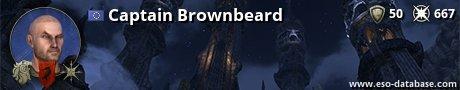 Signatur von Captain Brownbeard