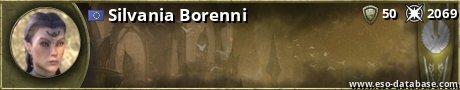Signatur von Silvania Borenni