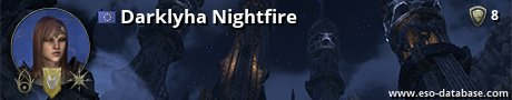 Signatur von Darklyha Nightfire